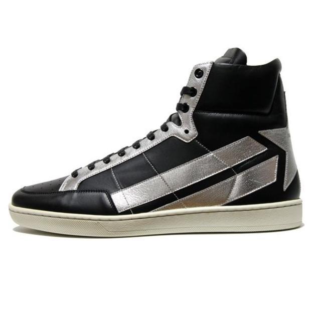 Saint Laurent(サンローラン)の【2】 SAINT LAURENT ハイカットスニーカー size 42 メンズの靴/シューズ(スニーカー)の商品写真