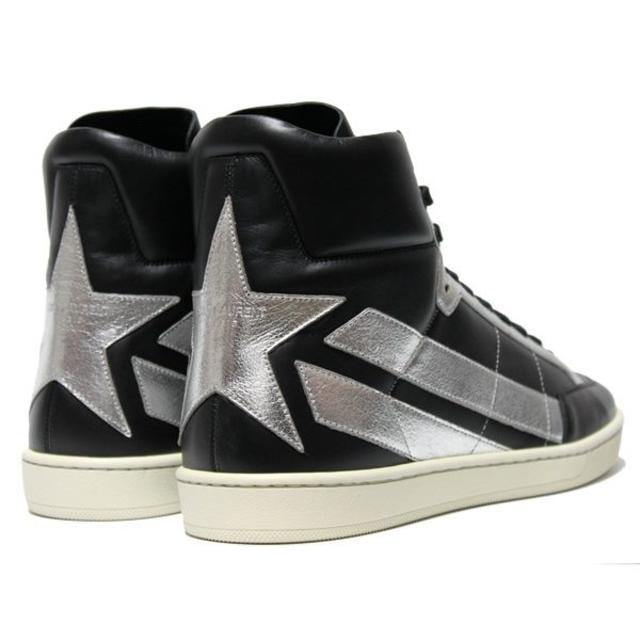【2】 SAINT LAURENT ハイカットスニーカー size 42.5 メンズの靴/シューズ(スニーカー)の商品写真