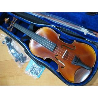 【美品】 工房製 ハンドメイド バイオリン 4/4 新品付属品セット