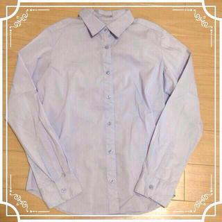 ジーユー(GU)のGU☆ブルーシャツ(シャツ/ブラウス(長袖/七分))