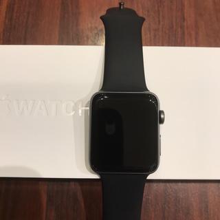 アップルウォッチ(Apple Watch)の(美品) Apple Watch series2 42mm (腕時計(デジタル))