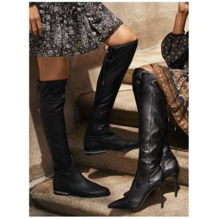 マイケルコース(Michael Kors)のJamie Stretch Block-Heel Boot(ブーツ)