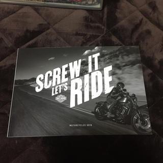 ハーレーダビッドソン(Harley Davidson)のハーレーダビッドソン カタログ(カタログ/マニュアル)