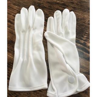 結婚式 紳士 手袋(手袋)