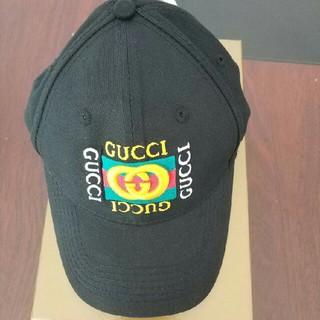 Gucci - GUCCI グッチ ロゴ帽子 イタリア製 正規品