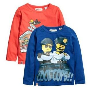 エイチアンドエム(H&M)の新品♪H&M レゴ 110㎝ ロンT 2枚セット(Tシャツ/カットソー)