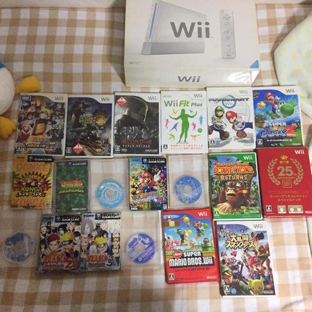 Wii(ウィー)のwii、ゲームキューブ エンタメ/ホビーのテレビゲーム(家庭用ゲーム本体)の商品写真