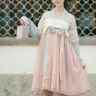 漢服中国風ミニワンピース 美品日常刺繍