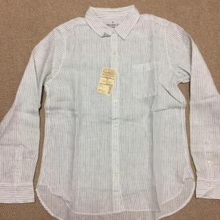 ムジルシリョウヒン(MUJI (無印良品))の無印 ストライプシャツ(シャツ/ブラウス(長袖/七分))