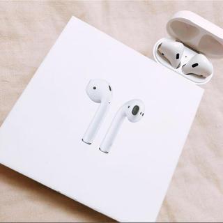 アップル(Apple)のAir Pods 完全正規品 (ヘッドフォン/イヤフォン)