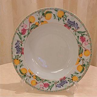 アビランド(Haviland)の【アビランド】ジャルダンエデン スープ皿(食器)