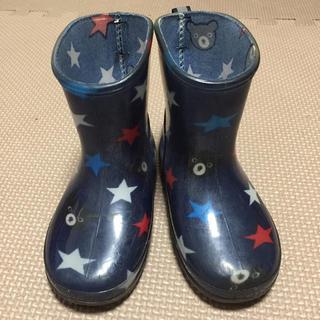 ダブルビー(DOUBLE.B)のミキハウス ダブルビー レインブーツ キッズ 14cm(長靴/レインシューズ)