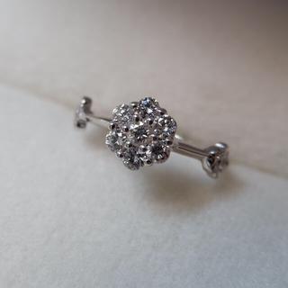 ファランジリング K18 ダイヤモンド  -1号 リング(リング(指輪))