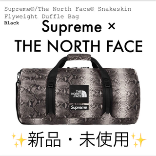 シュプリーム(Supreme)の【新品未使用】Supreme×The North Face snakeskin(ドラムバッグ)