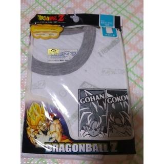 ドラゴンボール(ドラゴンボール)の新品 ドラゴンボール あったかキルト 半袖丸首シャツ 120 綿100%(下着)