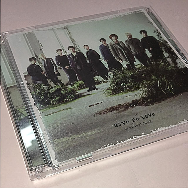 Hey! Say! JUMP(ヘイセイジャンプ)のHey!Say!JUMP/Give Me Love 初回限定盤 エンタメ/ホビーのCD(R&B/ソウル)の商品写真