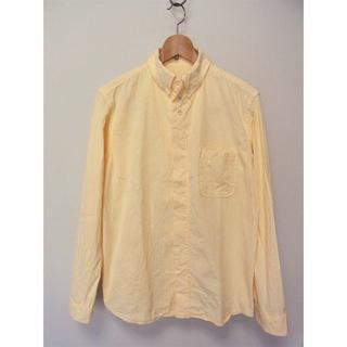 ヤエカ(YAECA)のnisica ニシカ オックスフォードボタンダウンシャツ イエロー 3(シャツ)