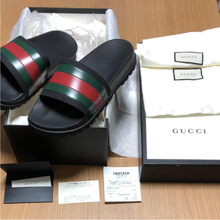 Gucci - gucci スライドサンダル 27.5cm