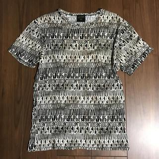 ジャンポールゴルチエ(Jean-Paul GAULTIER)のhyde着 ゴルチェ オム カットソー Tシャツ メンズ 総柄 supreme(Tシャツ/カットソー(半袖/袖なし))