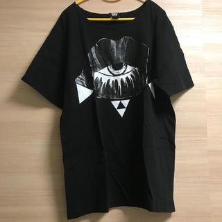 ファンキーフルーツ(FUNKY FRUIT)のFAR☆STAR lipプリント BIG T(Tシャツ(半袖/袖なし))