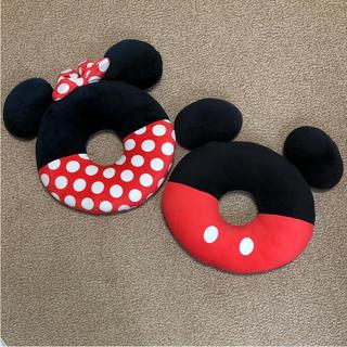 ディズニー(Disney)のディズニー ドーナツ型 クッション(クッション)