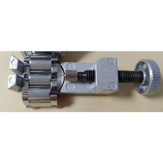 腕時計金属ベルト長さ調整用ツール【ギミックに凝ったオール金属】(金属ベルト)