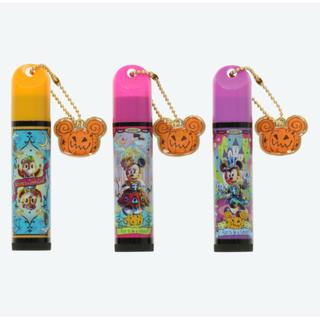 ディズニー(Disney)のディズニー ハロウィン 2018 リップクリーム 3個!(リップケア/リップクリーム)