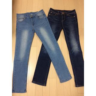 シマムラ(しまむら)のジーンズ 2枚セット(デニム/ジーンズ)