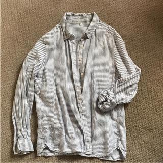 ムジルシリョウヒン(MUJI (無印良品))のピエール様専用リネンシャツ(シャツ/ブラウス(長袖/七分))