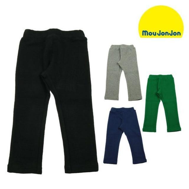mou jon jon(ムージョンジョン)のmoujonjon  日本製リップルフライスカラーパンツ M57004 キッズ/ベビー/マタニティのキッズ服 男の子用(90cm~)(パンツ/スパッツ)の商品写真