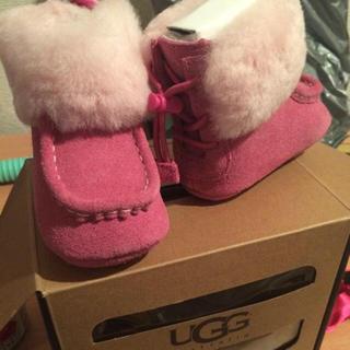 アグ(UGG)のugg 新品未使用 ベビー靴(ブーツ)