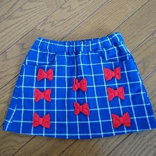 カルディア(CALDia)のリボン付き チェック柄 スカート(スカート)