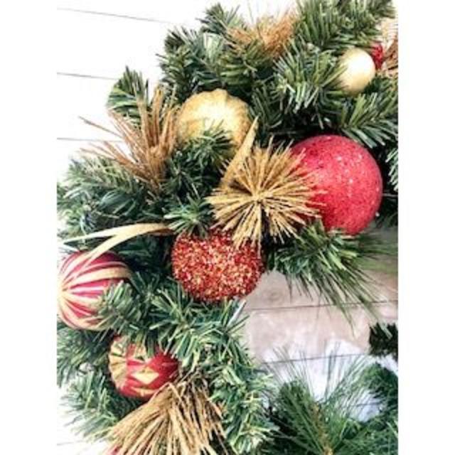 クリスマスリース インテリア/住まい/日用品のインテリア小物(その他)の商品写真