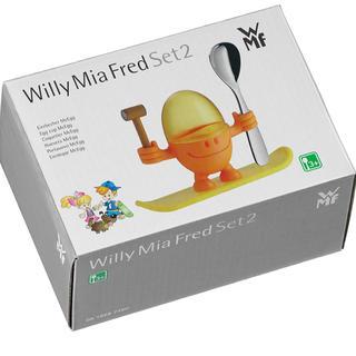 ヴェーエムエフ(WMF)のWMF ヴェーエムエフ エッグカップ(オレンジ)(収納/キッチン雑貨)