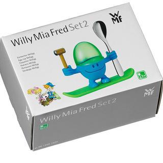 ヴェーエムエフ(WMF)のWMF ヴェーエムエフ エッグカップ(ブルー)(収納/キッチン雑貨)
