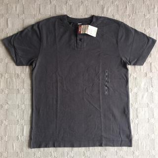 無印良品 メンズヘンリーネックTシャツ