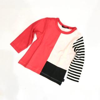 カルディア(CALDia)のCaldia (カルディア) カラーブロックTシャツ   A56800(Tシャツ/カットソー)