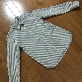 ムジルシリョウヒン(MUJI (無印良品))の無印良品 M  長袖シャツ(シャツ/ブラウス(長袖/七分))