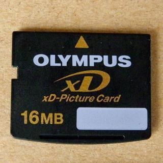 オリンパス(OLYMPUS)の最終値下げ;xDピクチャーカード 16MB オリンパス【中古】(その他)
