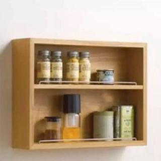 MUJI (無印良品) - 希少 MUJI 無印 壁につけられる家具 コレクションボックス