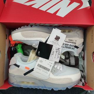 オフホワイト(OFF-WHITE)のOFF-WHITE the 10 NIKE Air Max 90(スニーカー)