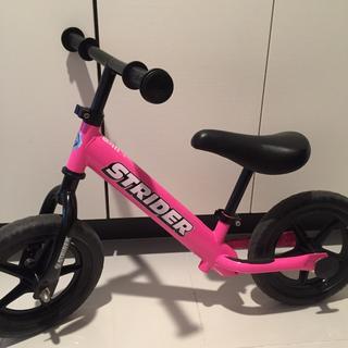ストライダ(STRIDA)の美品 ストライダー ピンク(自転車)