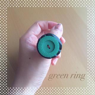 グリモワール(Grimoire)の36* 【USED】 アンティーク ボタン リング 指輪 古着屋 ロイスクレヨン(リング(指輪))