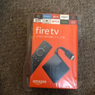 アップル(Apple)の新品未使用! Fire tv 4k(映像用ケーブル)