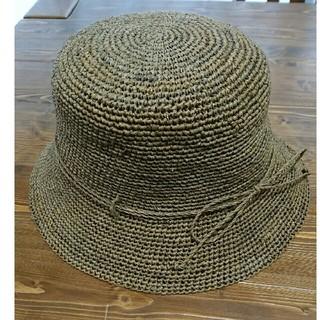 ムジルシリョウヒン(MUJI (無印良品))の無印良品ラフィアハット(麦わら帽子/ストローハット)