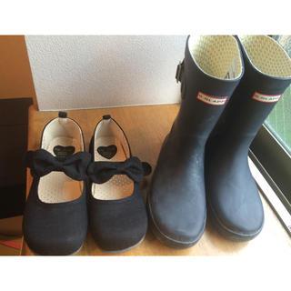 anyFAM フォーマルシューズ&G.GLAPP 長靴セット 22センチ(その他)