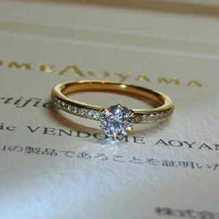 ヴァンドームアオヤマ(Vendome Aoyama)のヴァンドーム青山 最終値下げ 婚約指輪 ダイヤモンド エンゲージリング(リング(指輪))