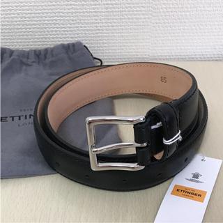 エッティンガー(ETTINGER)のエッティンガー ベルト ブラック 85cm(ベルト)