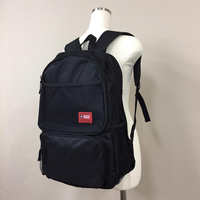 ffb2e08275d4 リュック デイパックリュックサック 通勤通学 学生 黒 ブラック 新品 人気 レディースのバッグ(リュック