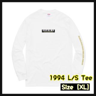 シュプリーム(Supreme)の【XL】 1994 L/S Tee(Tシャツ/カットソー(七分/長袖))
